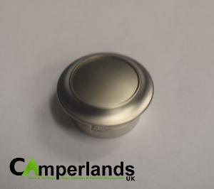 Push Lock Button & Collar (Nickel finish)