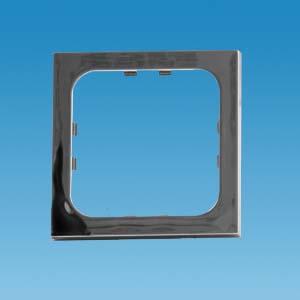 C-Line 1 Way Face Plate - Gloss Chrome