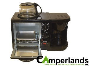 StreetWize 3 in 1 Combination Grill/Oven/Coffee Maker