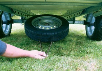 Camp-let Spare Wheel Carrier – 13 Inch