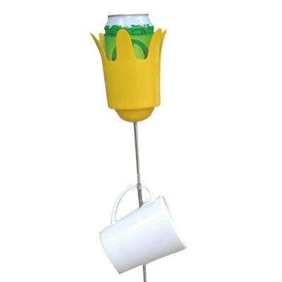 CampTech Stick Cup Holder - Yellow