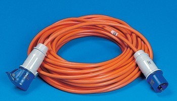 Caravan Mains Electric Connection Lead - 10m