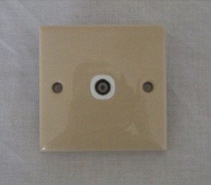 Coaxial socket.CLEARANCE
