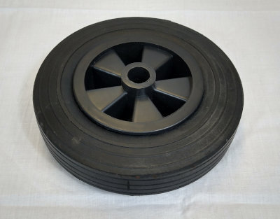 Hard Plastic Jockey wheel 190mm x 57mm