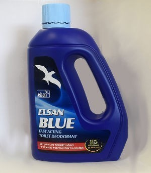 Elsan Blue 2 Litre Toilet Fluid