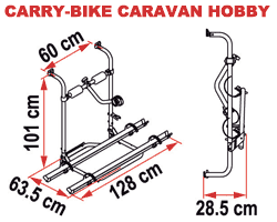 Fiamma Carry-Bike Caravan Hobby