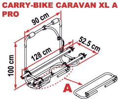 Fiamma Carry-Bike Caravan XL A Pro
