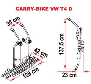 Fiamma Carry-Bike VW T4 D - 2018