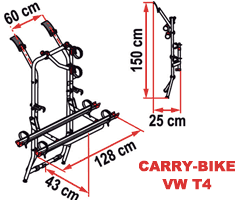 Fiamma Carry-Bike VW T4