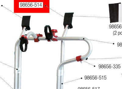 Fiamma Carry Bike Trafic D Upper Fixing Bracket - Right Hand