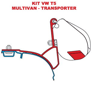 Kit F35 VW T5 Multivan-Transporter RH