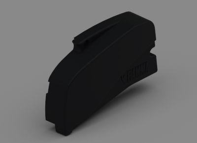 Fiamma F40 Right Hand End Cap - Black