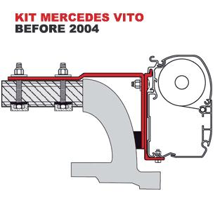 Fiamma Kit Mercedes Vito