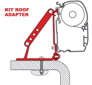 Fiamma Kit Roof Adapter