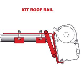 Fiamma Adapter Kit Roof Rail