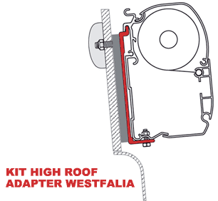 Fiamma Kit High Roof Adapter Westfalia
