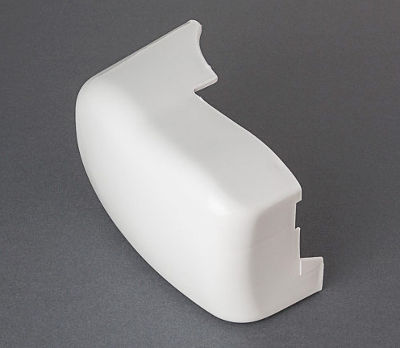 Fiamma F45i - Left Hand Outer End Cap White