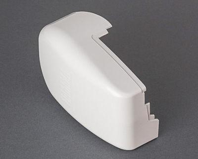 Fiamma F45 Ti Left End Cap - Polar White