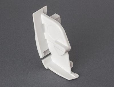 Fiamma F45 Ti L Right Hand Pelmet Cap - Polar White