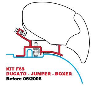 Kit F65 - F65 S Ducato B4 06-2006
