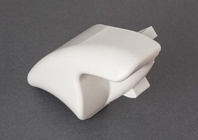 Fiamma F65 TOP Pelmet Cap White - Right Hand