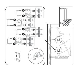 Fiamma Ultra-Box Wall Box Kit