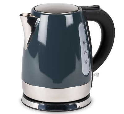 Kampa Cascade Stainless Steel Low Watt Kettle - Grey