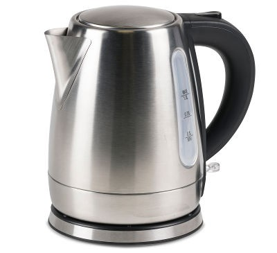 Kampa Cascade Stainless Steel Low Watt Kettle - Silver