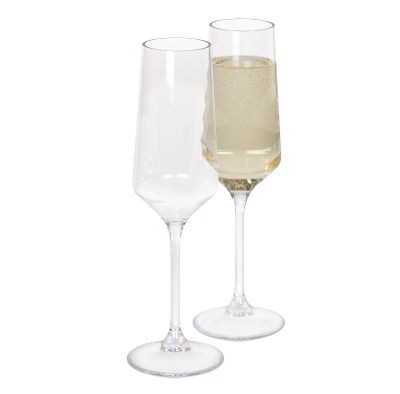 Kampa Soho Champagne / Prosecco Flute 270ml x 2
