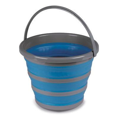 Kampa 10L Folding Silicon Bucket - Blue