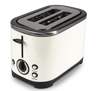 Kampa Deco Stainless Steel Toaster - Cream