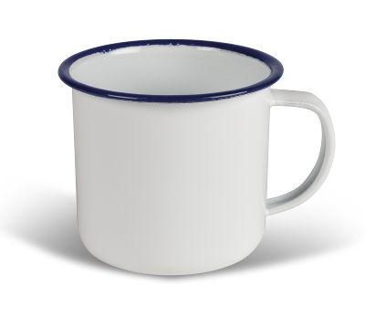 Kampa Enamel Mug 350ml - White