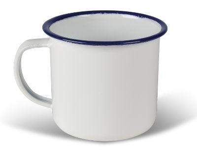 Kampa Enamel Mug 540ml - White