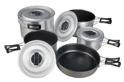 Kampa Feast Aluminium Cook Set