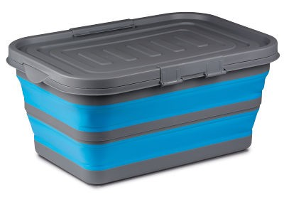 Kampa Large Collapsible Storage Box - Blue