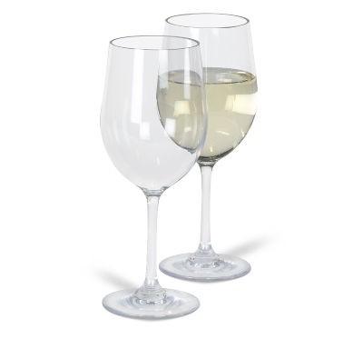 Kampa Noble White Wine Glass 350ml x 2