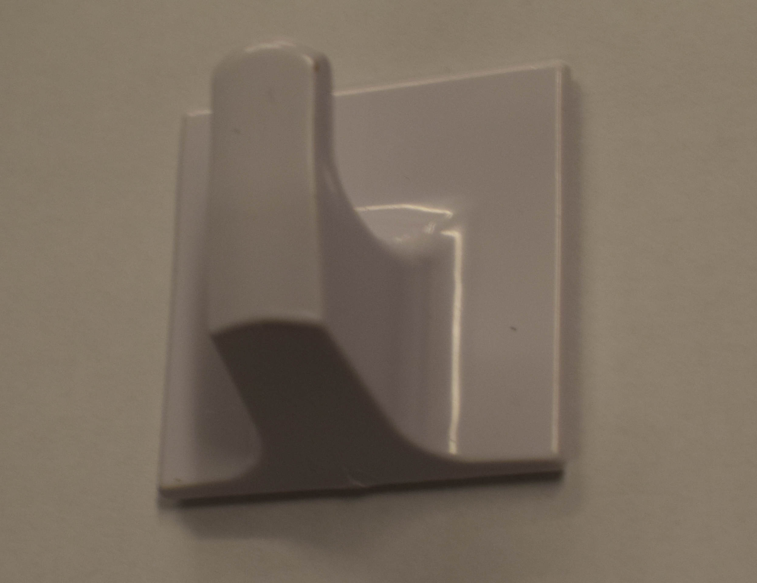 Large White Adhesive Hooks