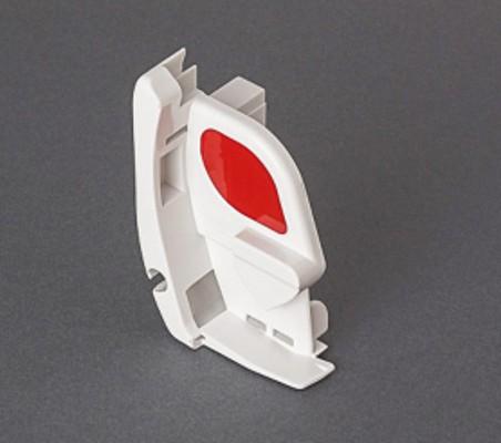 Fiamma F45 S Pelmet Cap White - Right Hand