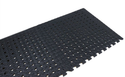 Eva Floor Tiles - Black