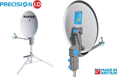 Maxview Sky Dish Precision I.D. 55cm dish and single LNB