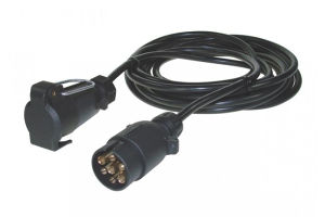 Maypole 3M 7Pin 'N' Socket Extension Cable