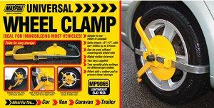 "Maypole Universal Wheel Clamp  13"" to 17"" 215mmwide"