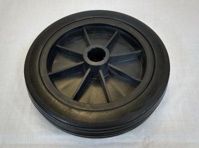 Hard Plastic Jockey wheel 165mm x 50mm