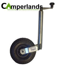 Pneumatic Plastic Jockey Wheel Assembly - 48mm
