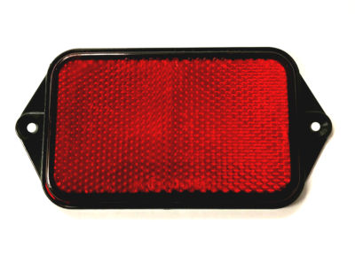 Red Trailer Reflector