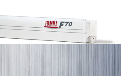 Fiamma F70 400 - Polar White / Royal Blue