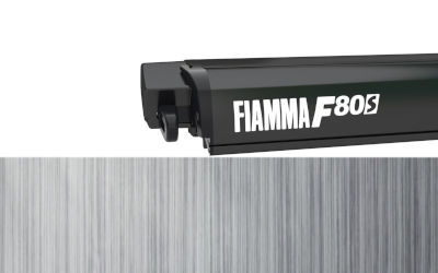 Fiamma F80S 450 - Deep Black / Royal Grey