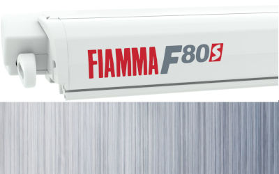Fiamma F80S 340 - Polar White / Royal Blue