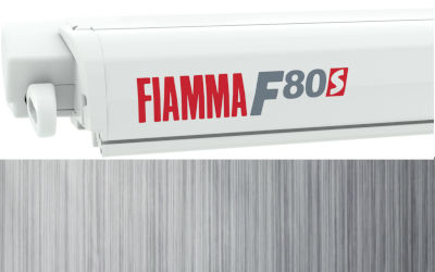 Fiamma F80S 320 - Polar White / Royal Grey