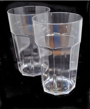 Pair of Acrylic Hi-Ball Glasses